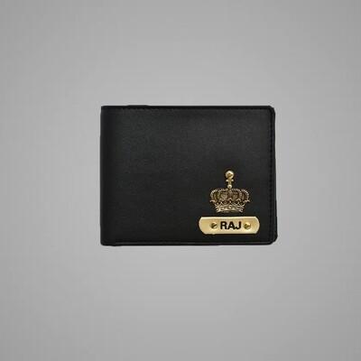 Black - Tan Imported Dual Colour Wallet