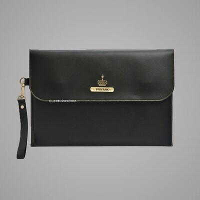 Black Personalised Laptop Bag