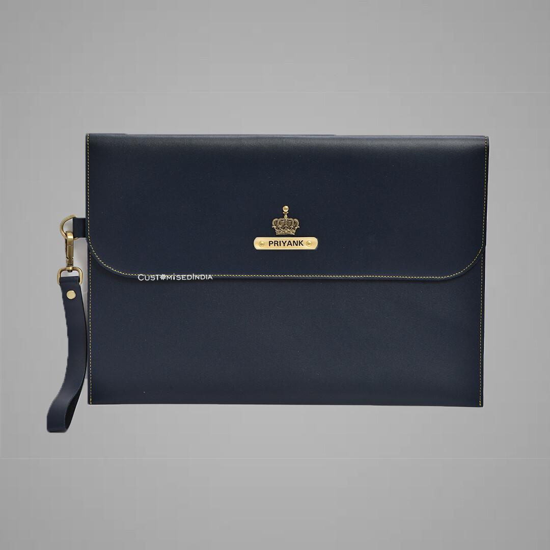 Blue Personalised Laptop Bag