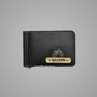 Customised Black Money Clipper
