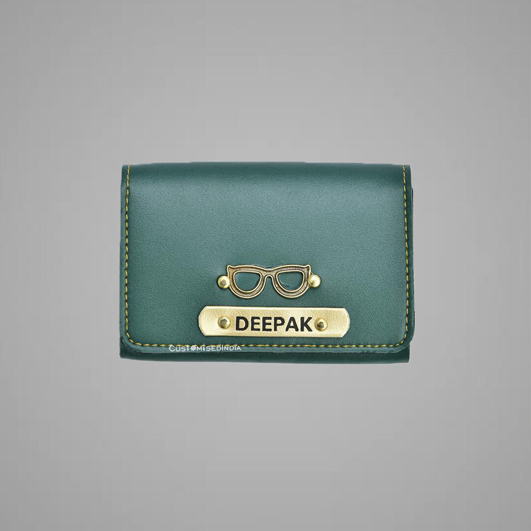 Green Premium Card holder