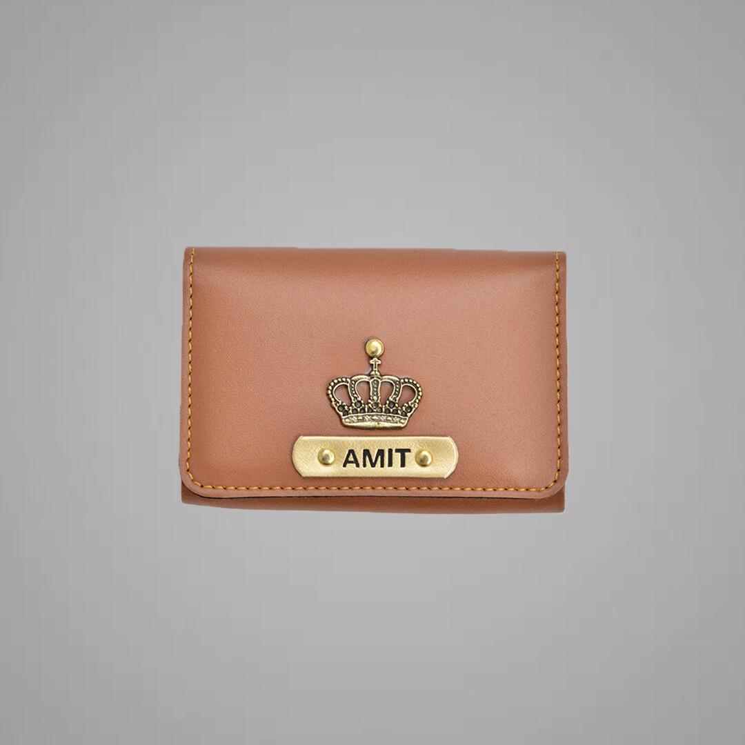Tan Premium Card holder