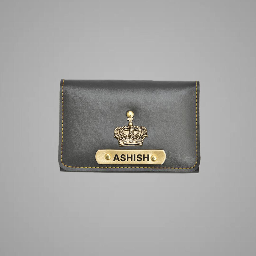 Grey Premium Card holder