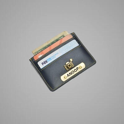 Blue Customised Card holder