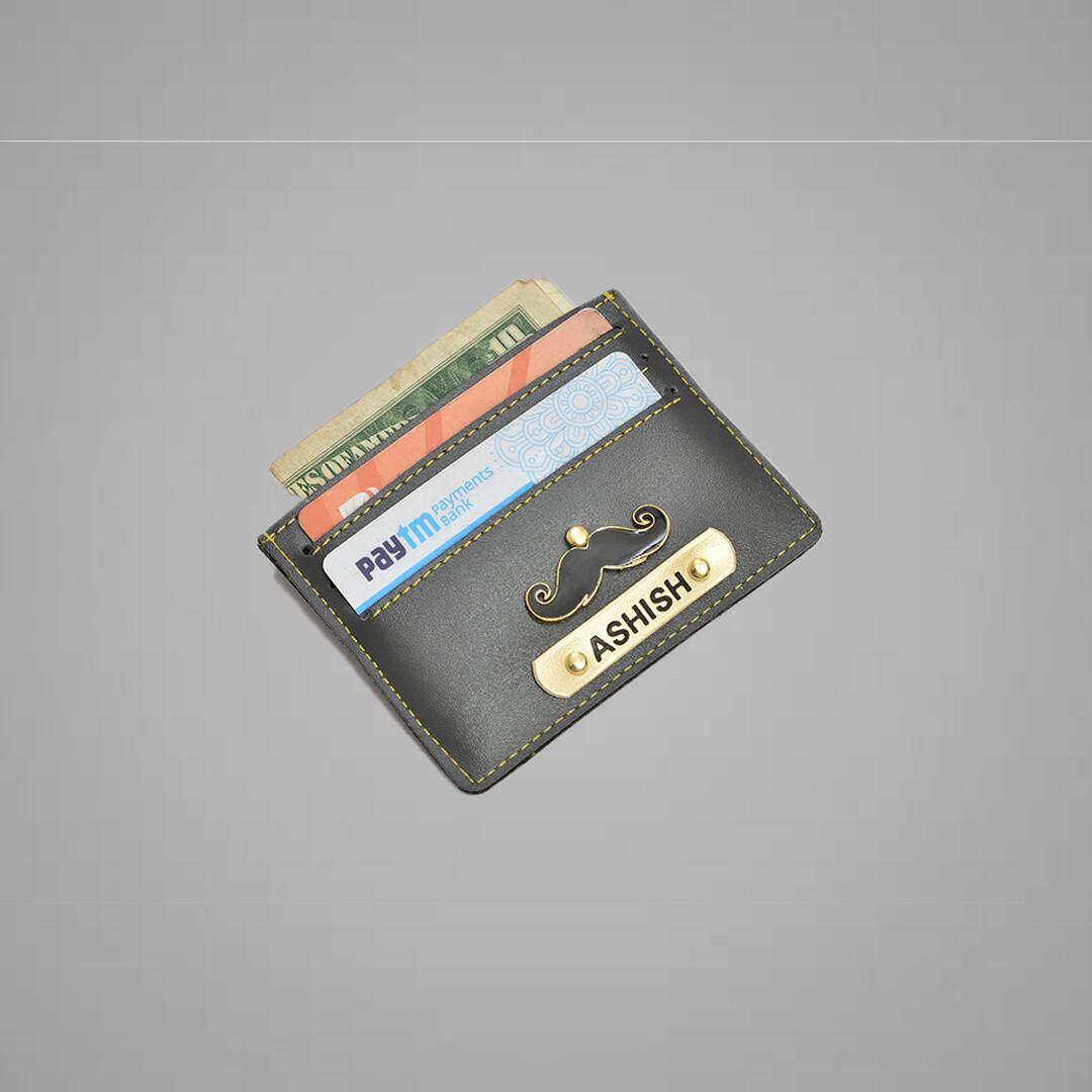 Grey Customised Card holder