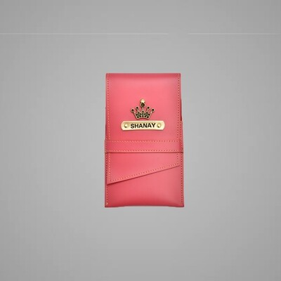 Pink Customised Stationary case