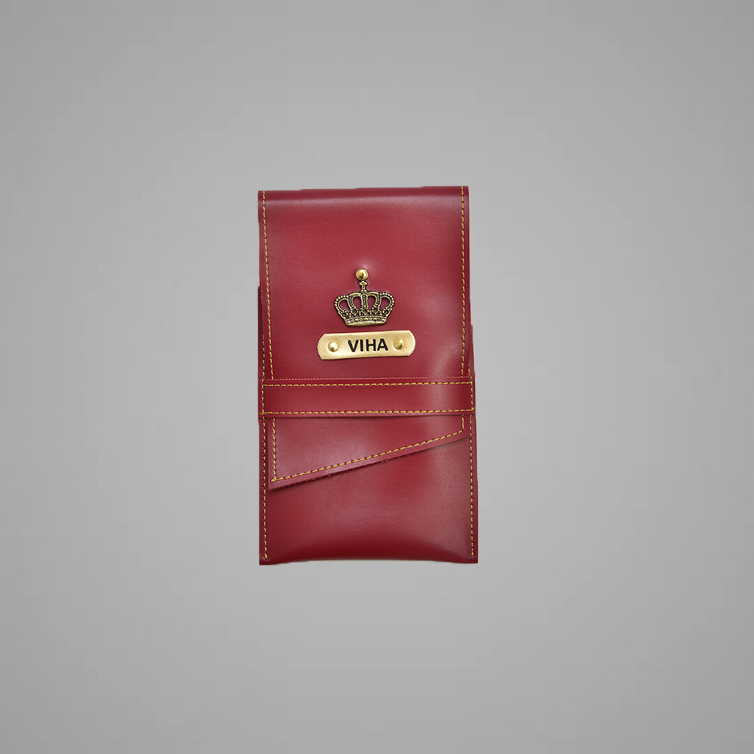 Red Customised Stationary case