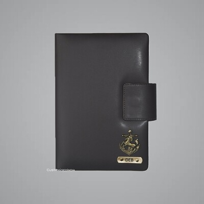 Brown Customised Leather Diary