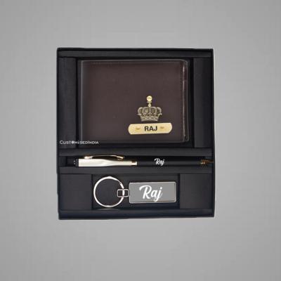 Brown-Creme Dual Colour Wallet Combo