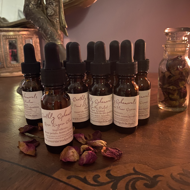 Flower Essence Set with FREE 1/2 oz Rose Elixir