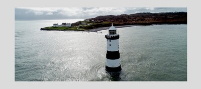 FRAME A1 : Trwyn Du Lighthouse, Anglesey, Wales.