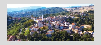 FRAME A1 : Gessoplena Town, Abruzzo, Italy.