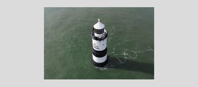 FRAME B1 : Trwyn Du Lighthouse, Anglesey, Wales.
