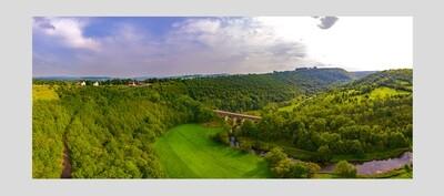 FRAME A1 : Headstone Viaduct, Monsal Trail, Peak District National Park, England.