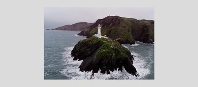 FRAME B1 : South Stack Lighthouse, Anglesey, Wales.