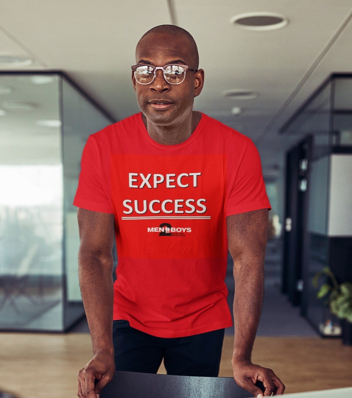 "M2Bs Message Line T-Shirt ""Expect Success"""