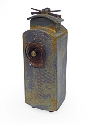 Assemblage Vessel - Ceramic/Found Objects