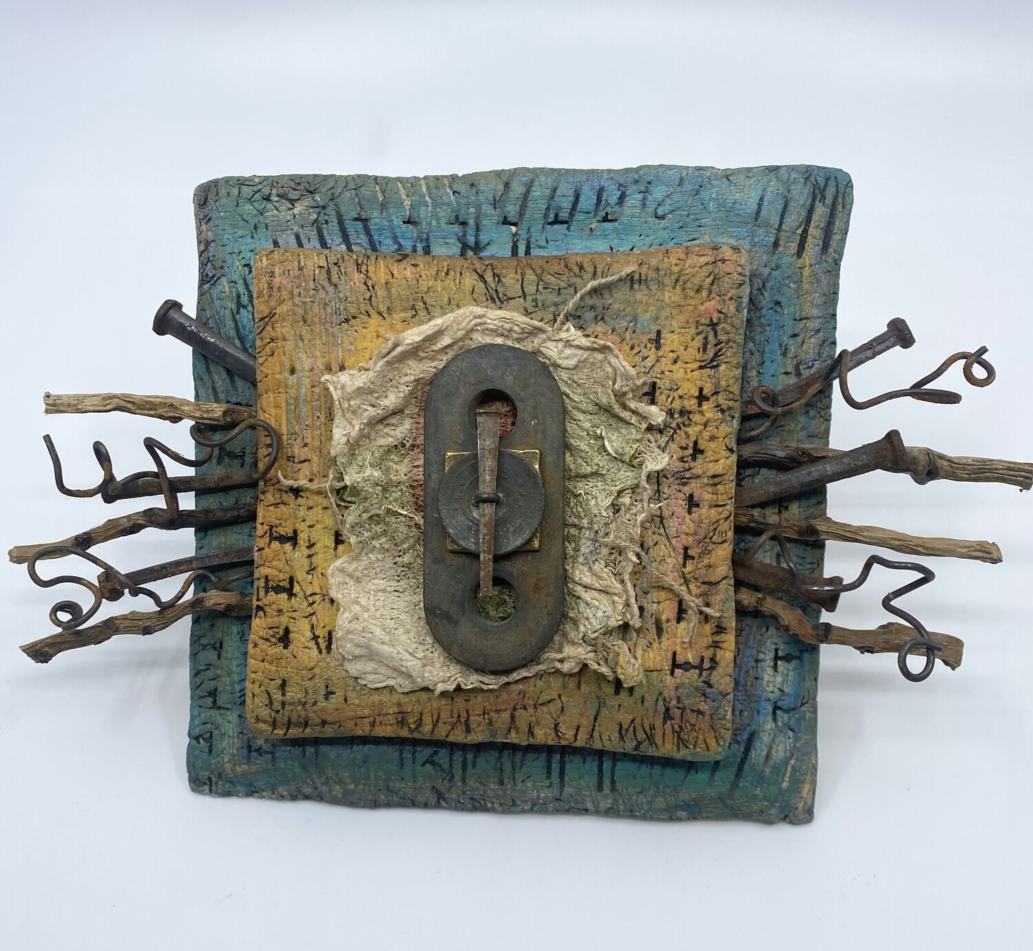 """Assembled Wall Piece - """"Branching Out"""""""
