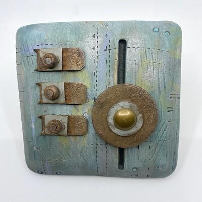 Assembled Wall Piece