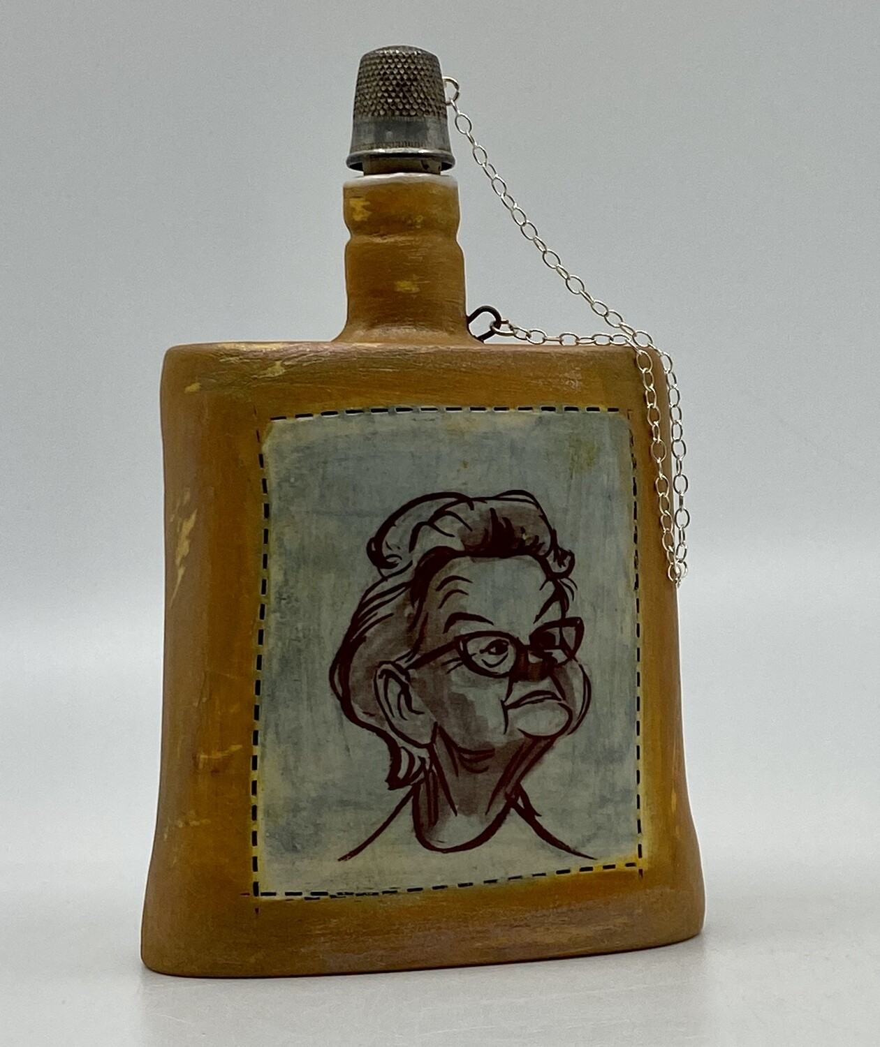 Obey the Rules Flask