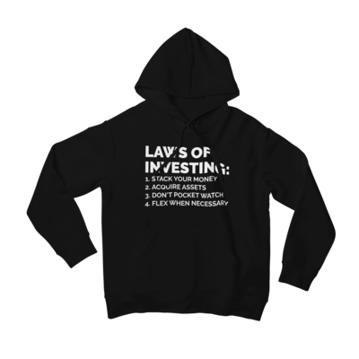 Laws of Investing Hoody