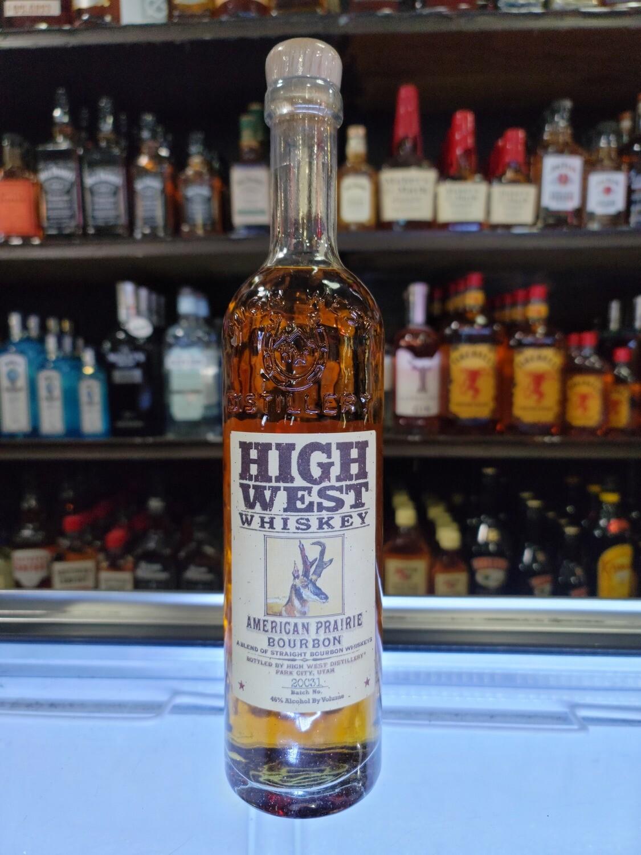 High West Bourbon 750ml