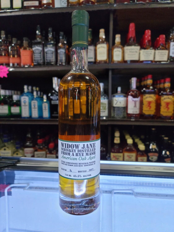 Widow Jane American Oak Rye 750ml