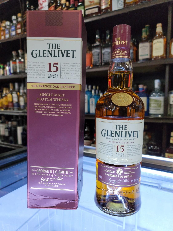 Glenlevit Single Malt Scotch Whisky 15years 750ml