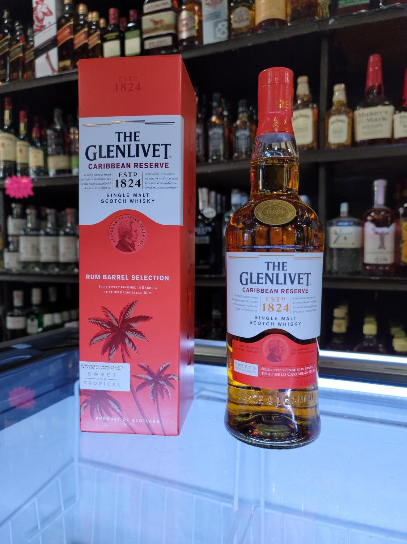 Glenlevit Single Malt Scotch Whisky Caribbean Cask 750ml