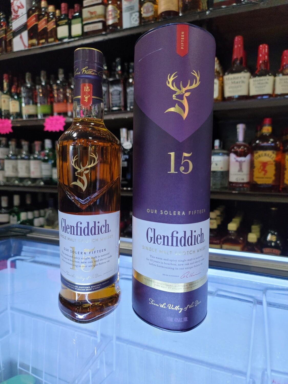 Glenfiddich Single Malt Scotch Whisky 15year 750ml