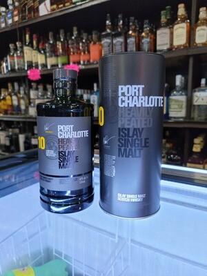 Bruichladdich Islay Single Malt Scotch Whisky Port Charlottle Heavily Peated 10year 750ml