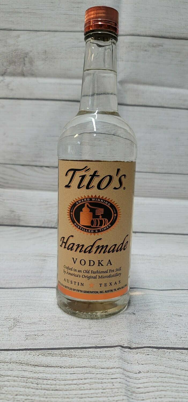Tito's Vodka 1 Liter