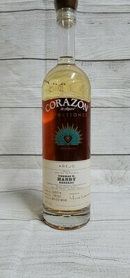 Corazon Tequila Expresiones Anejo Thomas Handy 750ml
