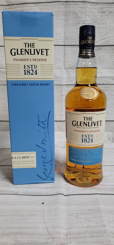 Glenlevit Single Malt Scotch Whisky Founder's Reserve 1824 750ml