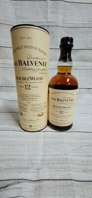 Balvenie Single Malt Scotch Whisky 12year Double Wood 750ml