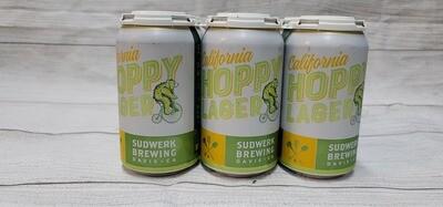 Sudwerk Brewing Hoppy Lager 12oz 6pack