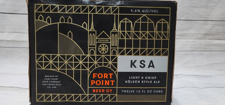 Fort Point KSA 12pack 12oz
