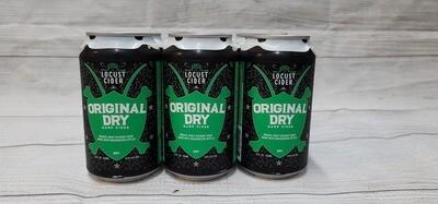 Locust Cider Dry 6pack 12oz