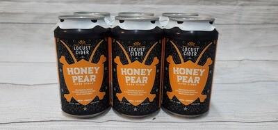 Locust Cider Honey Pear 6pack 12oz