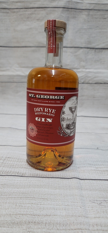 St George Dry Rye Reposado Gin 750ml