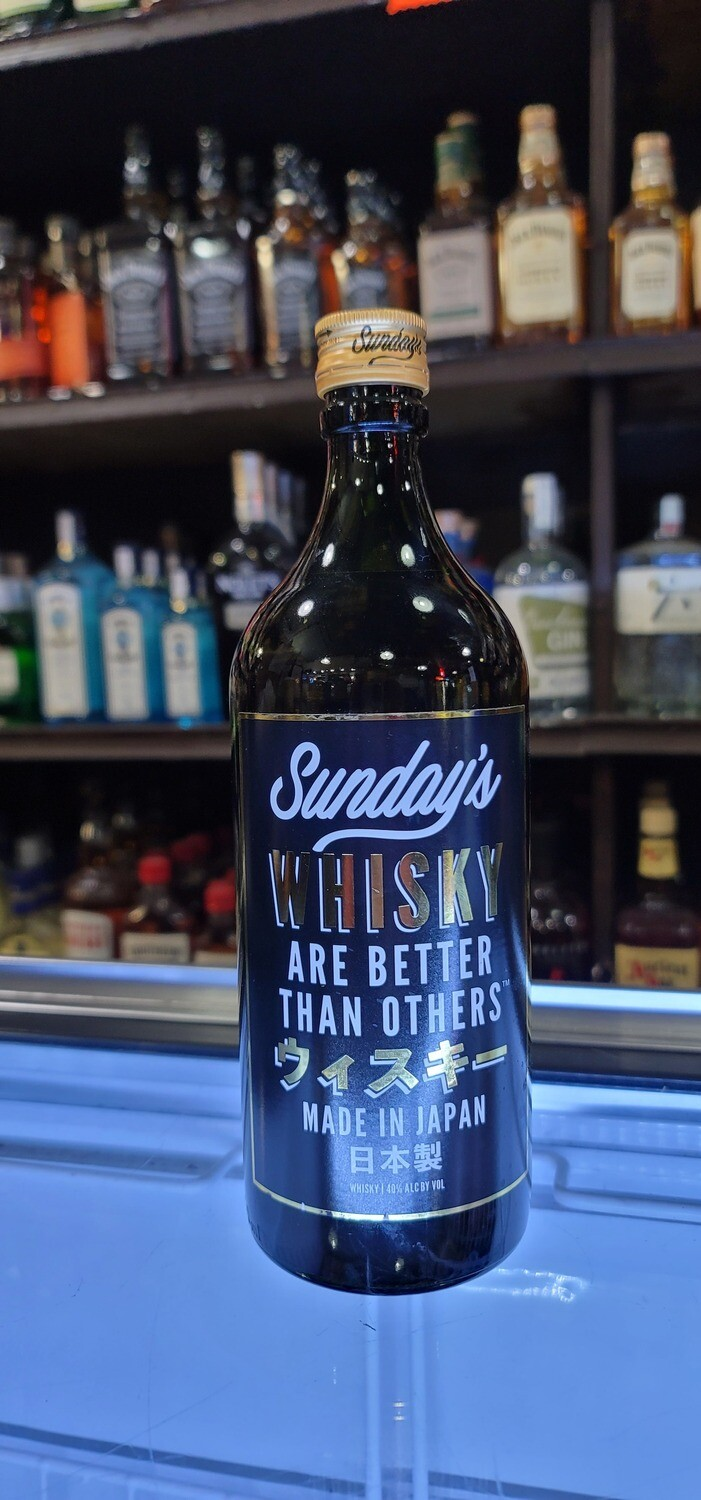 Sunday's Are Better Than Others Whisky 750ml