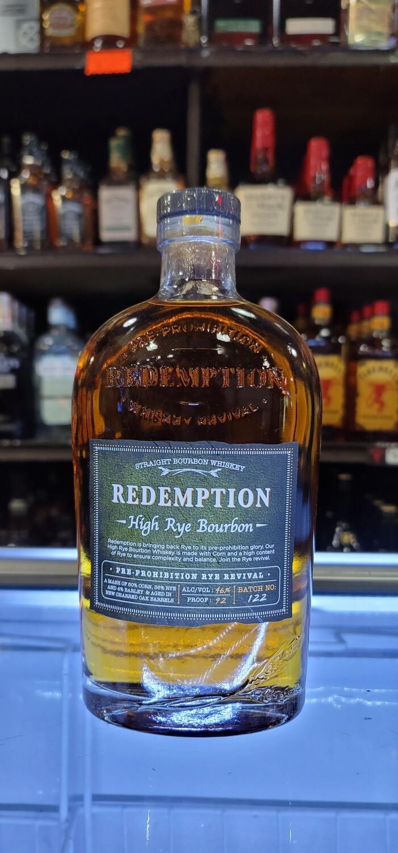 Redemption High Rye Whiskey 750ml
