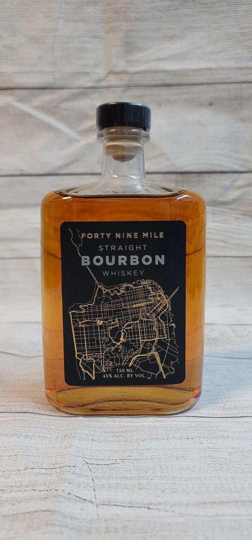 Forty Nine Mile Straight Bourbon Whiskey 750ml