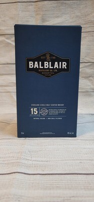 BalBlair 15year 750ml