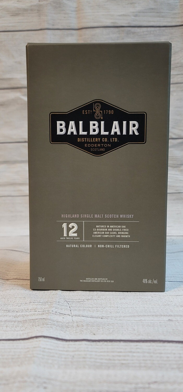 BalBlair 12year 750ml
