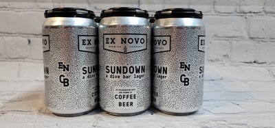 Ex Novo/CoffeeBeer Sundown A Dive Bar lager 12oz 6pack