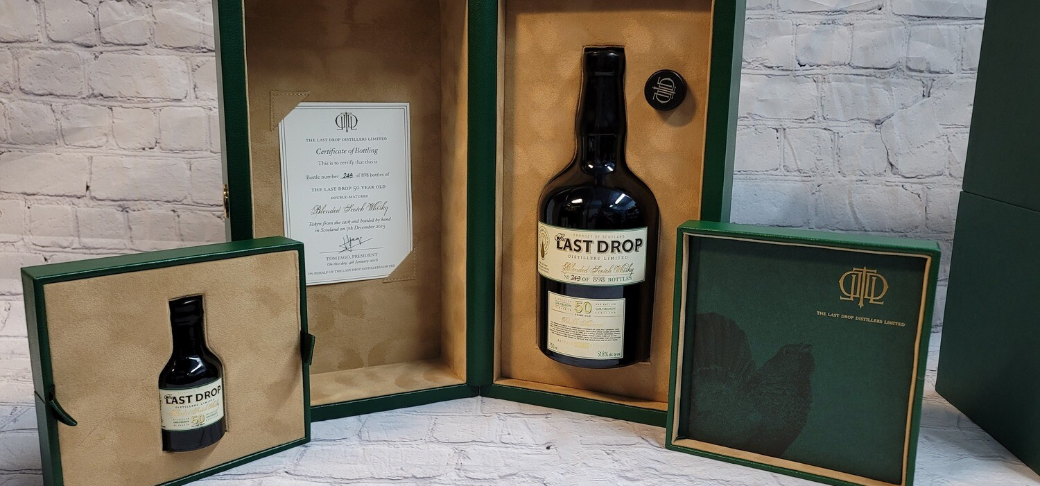 The Last Drop Blended Scotch Whiskey 50year Cask Strength 750ml