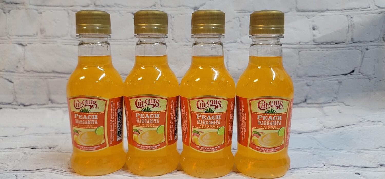 Chi Chi's Peach Margarita 187ml 4pack