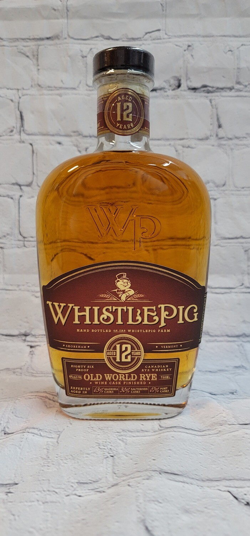 Whistle Pig 12 year Old World Rye Wine Cask Finish 750ml