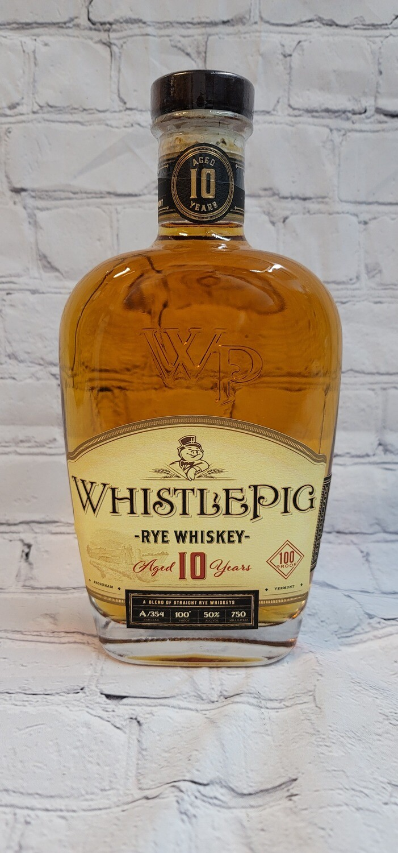 Whistle Pig Rye Whiskey 10 year 750ml